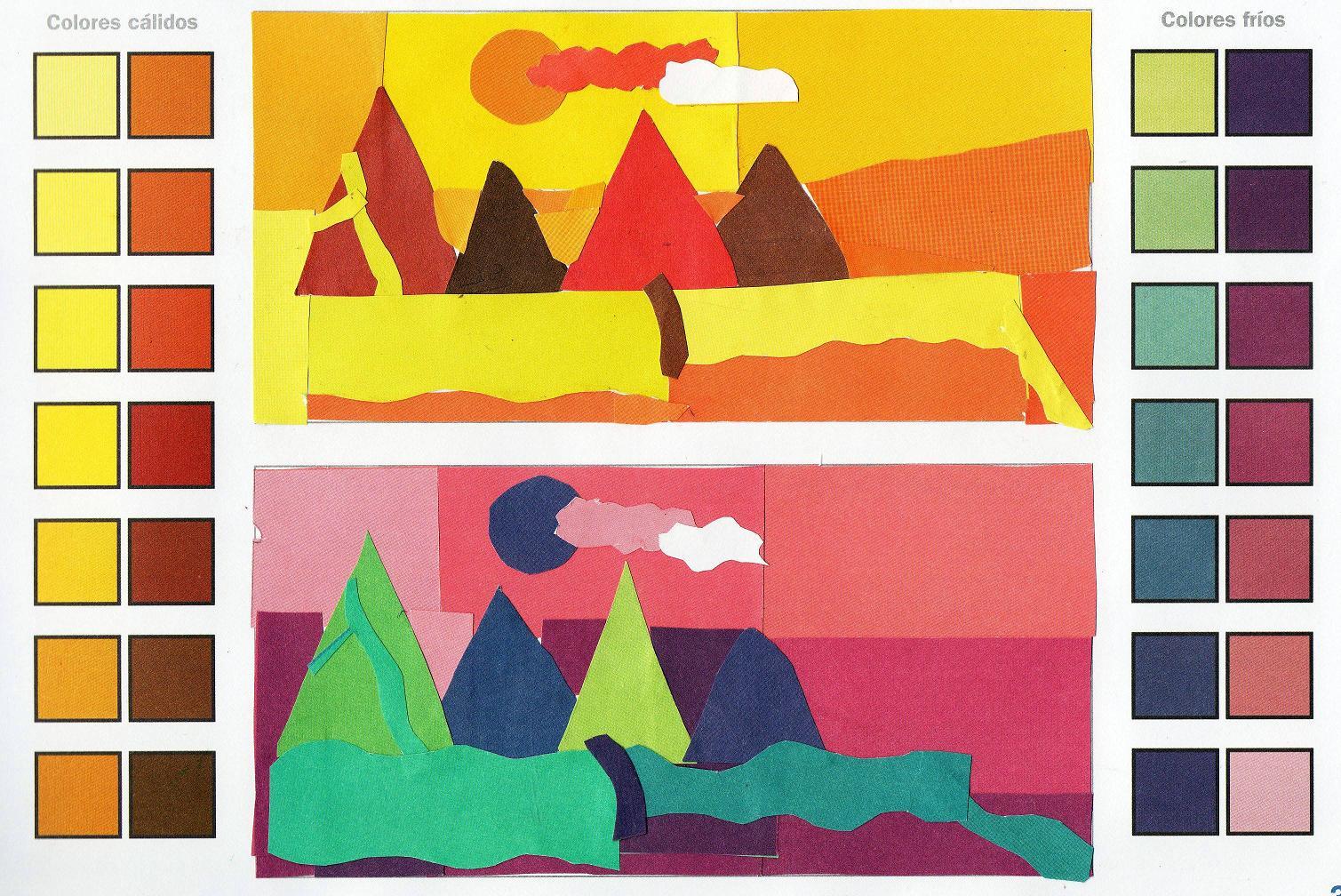 Nuestros trabajos - Colores frios y colores calidos ...